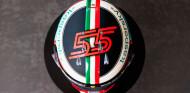 El casco de Sainz para su primera vez en Monza como piloto Ferrari - SoyMotor.com