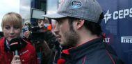Carlos Sainz durante su rueda de prensa en Barcelona - LaF1