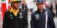 Carlos Sainz y Sergio Pérez en Spa - SoyMotor.com