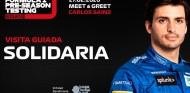 Sainz, protagonista de un evento benéfico el 27 de febrero en el Circuit - SoyMotor.com