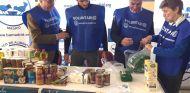 Los Sainz, padrinos de la Gran Recogida de Alimentos de Madrid