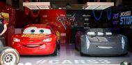 Rayo McQueen y Jackson Storm en Silverstone - SoyMotor