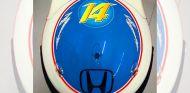 El nuevo casco de Alonso para la temporada 2016 - LaF1