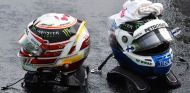 Los cascos de Lewis Hamilton y Valtteri Bottas – SoyMotor.com