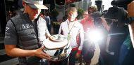 Stoffel Vandoorne con su nuevo casco en Spa – SoyMotor.com