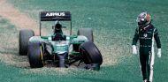 Kamui Kobayashi después de abandonar en Malasia al quedarse sin frenos - LaF1