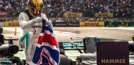 Lewis Hamilton celebra su título en México – SoyMotor.com
