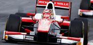 Charles Leclerc, de nuevo al frente en los libres de la F2 en Silverstone - SoyMotor.com