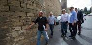 Tilke y Whiting inspeccionaron el circuito de Bakú - LaF1