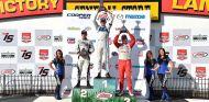 Max Chilton en lo alto del podio - laF1