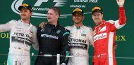 Podio del Gran Premio de China F1 2015 - LaF1