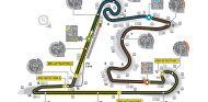 Mapa del circuito de Shanghai - LaF1