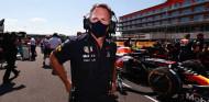 Christian Horner en el GP de Gran Bretaña F1 2021 - SoyMotor.com