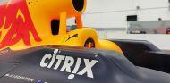 Imagen del Red Bull con el nombre de la compañía Citrix - SoyMotor