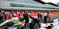 Nico Rosberg en las celebraciones de Williams en Silverstone - SoyMotor