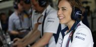 Claire Williams durante el GP de Alemania 2016 - SoyMotor