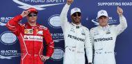 Pole de Hamilton y doblete Mercedes, Alonso fuera en Q1, Sainz 12º - SoyMotor.com