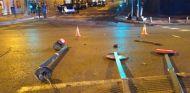 Un coche eléctrico se accidenta en Madrid - SoyMotor.com
