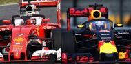 Comparativa entre el halo de Ferrari y la cúpula de Red Bull - LaF1