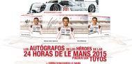 Concurso Porsche: Autógrafos, maqueta y gorra Le Mans 2015 - LaF1