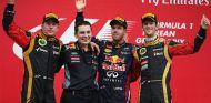 Podio del Gran Premio de Corea - LaF1
