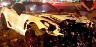 Corvette Z06 accidentado en Phoenix, Arizona