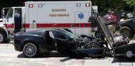 Corvette destrozado en Omaha - SoyMotor.com