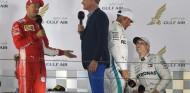 David Coulthard y Sebastian Vettel en una imagen de archivo - SoyMotor.com