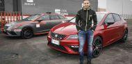 Andrea Dovizioso es piloto oficial de Ducati en MotoGP y embajador de Seat - SoyMotor