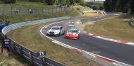 Choque en el Nürburgring - SoyMotor.com