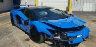 Lamborghini Aventador SV Roadster Accidente - SoyMotor.com