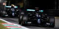 Lewis Hamilton y Valtteri Bottas en Monza - SoyMotor.com