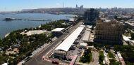 Vista zenital de la recta de Bakú - SoyMotor.com