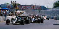 Mansell, De Angelis, Lauda, Prost y Senna en Dallas - SoyMotor.com