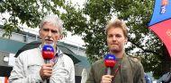 Damon Hill y Nico Rosberg en Australia - SoyMotor.com