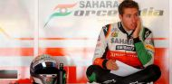 Daniel Juncadella en el box de Force India - LaF1.es