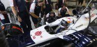Daniel Juncadella en el Williams FW35 durante los test de jóvenes pilotos de Silverstone