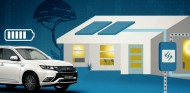 Mitsubishi Dendo Drive House: coche eléctrico y casa, todo en uno - SoyMotor.com