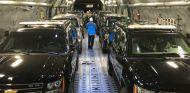 Así se transportan los coches de Trump por Asia - SoyMotor.com