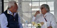 Lawrence Stroll y Bernie Ecclestone - SoyMotor.com