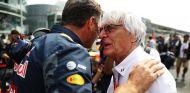 Bernie Ecclestone visitó Monza durante el Gran Premio de Italia 2016 - LaF1