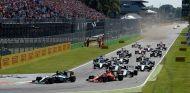 Salida del Gran Premio de Italia 2015 - LaF1