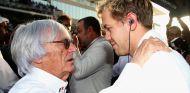 Bernie Ecclestone y Sebastian Vettel - LaF1