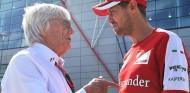 """Ecclestone: """"Sólo espero que Ferrari juegue limpio con Vettel"""" - SoyMotor.com"""