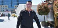 Éric Boullier en Bakú - SoyMotor.com