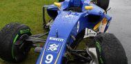 Así terminó el monoplaza de Marcus Ericsson - SoyMotor