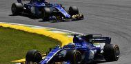 Marcus Ericsson y Pascal Wehrlein en Brasil - SoyMotor.com