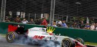 Gutiérrez sólo ha podido terminar una carrera esta temporada y lo hizo en 14ª posición - LaF1