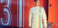 Esteban Ocon posa en Spa-Francorchamps - LaF1