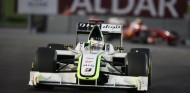 Jenson Button en el GP de Abu Dabi 2009 - SoyMotor.com